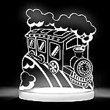 Total Dreamz Smiling Train Multicolored LED Night Light
