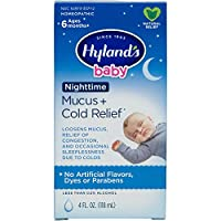 Baby Cold Medicine, Nighttime Infant Cold and Cough Medicine, Decongestant, Hyland's...