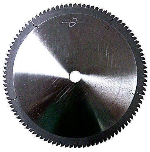 Popular Tools NF3012 Non-Ferrous Cutting Saw, 30″ Diameter, 120T Teeth.200″ Plate, 1″ Bore