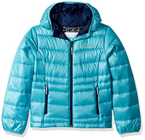 Hooded Pacific Rim Girls Jacket TurboDown 550 Down Gold Columbia Op08HIn8