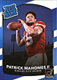 #2: 2017 Donruss #327 Patrick Mahomes II Kansas City Chiefs Rated Rookie Football Card