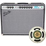 Fender 68 Custom Vibrolux Reverb Limited Edition Tube Amp Gunmetal Gray