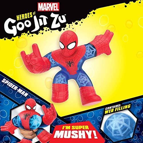 Gli eroi di Goo jit Zu Spiderman gooiest e squishiest Hero stretchiest