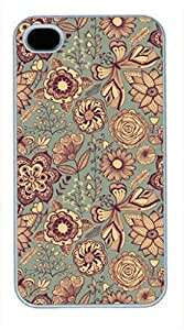 iPhone 5 5S Case, iCustomonline Vintage Collection Back Case Cover for iPhone 5 5S