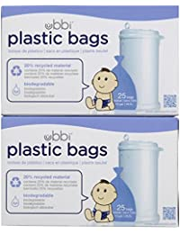 Ubbi Plastic Bags - 50 ct BOBEBE Online Baby Store From New York to Miami and Los Angeles