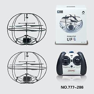 ROBOTIC UFO ジャイロ搭載 球体ボール型 3ch赤外線ラジコンヘリコプター