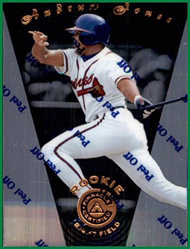 1997 Pinnacle Certified #106 Andruw Jones ATLANTA BRAVES