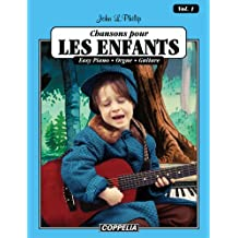 15 Chansons pour enfants vol. 1 - Easy piano, orgue, guitare (Affichage vertical) (French Edition)