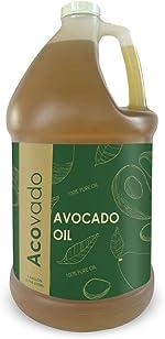 Acovado Avocado Oil Cooking, Refined, High Heat Oil,128 FL Oz.