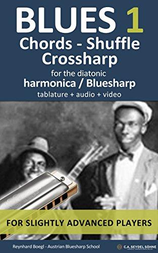 Blues 1 - Chords, Shuffle, Crossharp: for the Bluesharp / diatonic