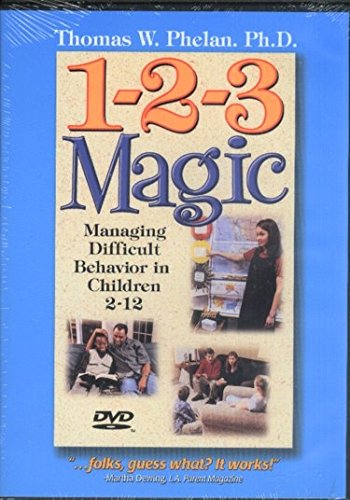 1-2-3 Magic: Managing Difficult Behavior in Children - Magic English Dvd