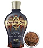 Devoted Creations ANYTHING GOES Bronzer Tanning Lotion 12.25 oz. by Devoted Creations + Bronzer Makeup | Baby Brown | Mineral Makeup by Giselle Cosmetics | Pure, Non-Diluted Mineral Make Up