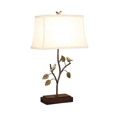 Zheng Hui Shop Personalidad lámpara de Mesa de Hierro ...