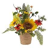 RAZ Imports 12'' Sunflower Arrangement