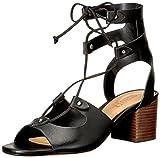 Schutz Women's Monik Dress Sandal, Black, 8.5 M US