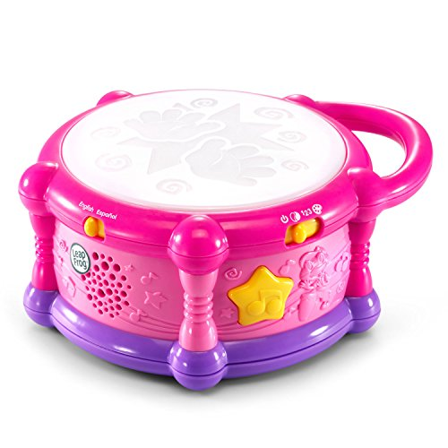 51rFbi5C3jL - LeapFrog Learn & Groove Color Play Drum Bilingual, Pink (Amazon Exclusive)
