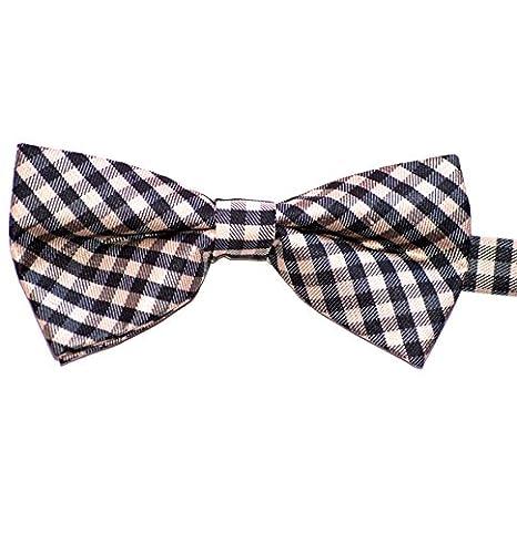 Cadeaux pour hommes nouvelle Mens pré attaché réglable boucles Polyester coton fantaisie cravate Fashion Boucles 2 Xg2JfwP