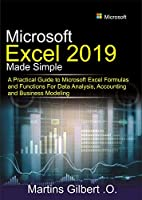 Microsoft Excel 2019 Made Simple Front Cover