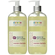 Nature's Baby Organics Shampoo & Body Wash, Lavender Chamomile, 16 oz (2-Pack) Babies, Kids, Adults! Moisturizing, Soft, Gentle, Rich, Hypoallergenic | No Parabens, SLS, Glutens