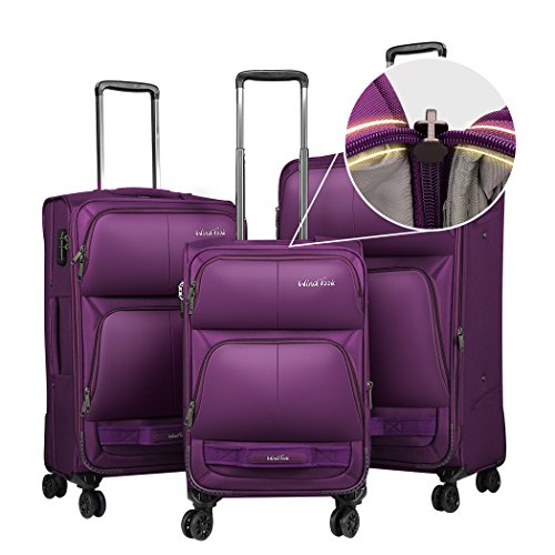 Windtook 3 Piece Luggage Sets Expandable Spinner Suitcase Bag for Travel and...