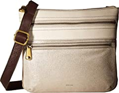 This leather crossbody boasts two front zipper pockets, two slide pockets and an adjustable, webbed strap. Our high-quality leather is well-known for its softness and ability to look good over time. Our expansive Explorer is the bag you take ...