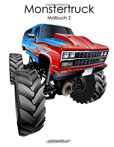 Monstertruck-Malbuch 2: Amazon.de: Nick Snels: Bücher