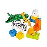 13 Pc Zoo Block Set