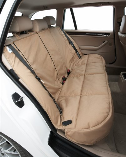 (Canine Covers CoverAll 2nd Row Custom Fit Seat Protector for Select Honda Civic Models - Polycotton (Taupe))