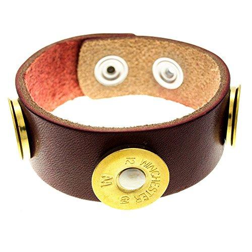 Cobrabraid Premium Leather Bracelet Adjustable