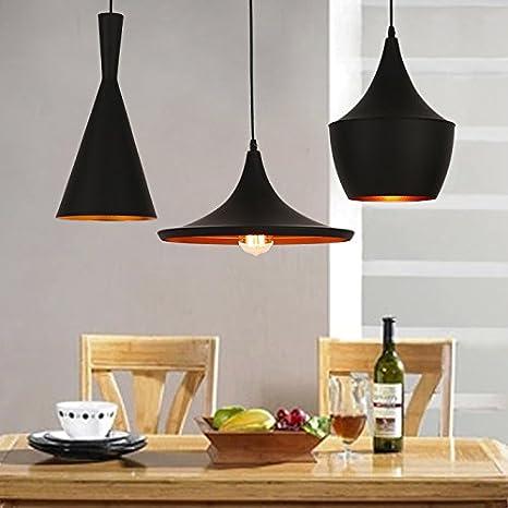 Toque minimalista lámpara colgante SINGLE cabeza Moderno ...