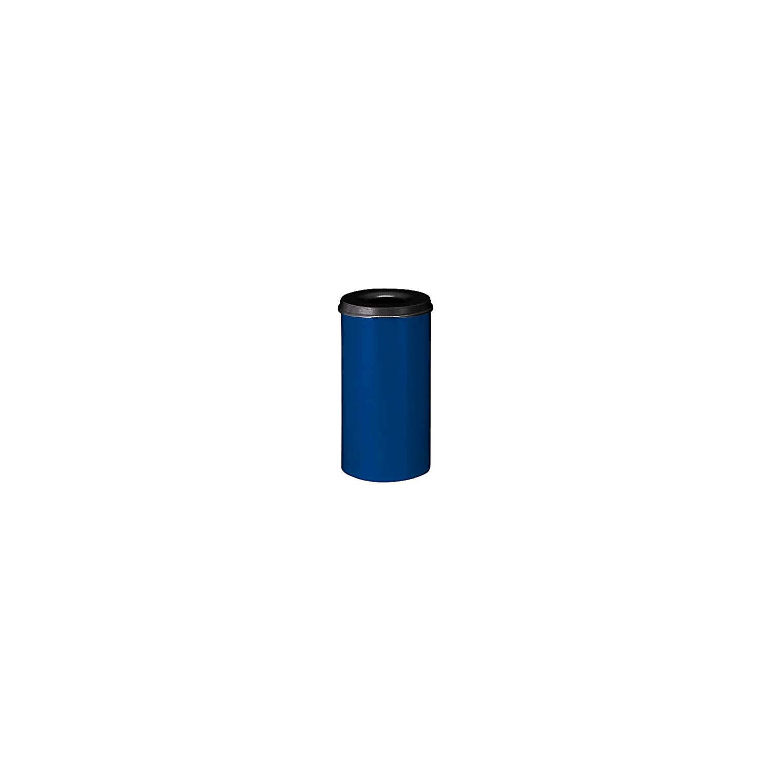 V-Part VB 105000 – Pattumiera 50 litri, corpo blu/con coperchio nero