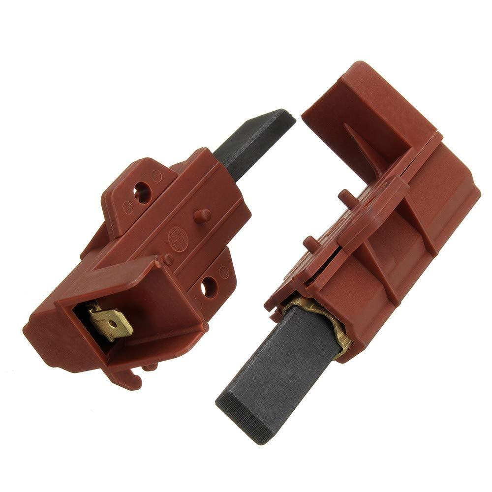 DyNamic 2Pcs Lavadora Motor De Carbón Cepillo Y Soporte Para Samsung Ariston Indesit Welling