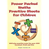 Power Packed Maths Practice Sheets for Children (Book 1)
