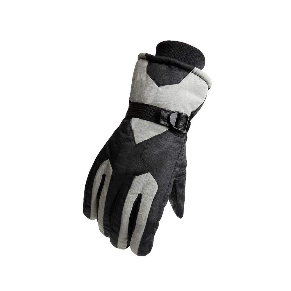 Dall Gloves Gloves Winter Warm Ski Glove Windproof Non-Slip Men Adjustable Size (Color : 003)