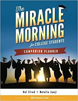 buy the miracle morning for college students companion planner book