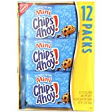 Chips Ahoy! Mini Chocolate Chip Cookies - Snack Packs, 12 Count Box, 12 Ounce