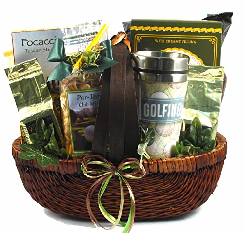 Gift Basket Village for the Love of Golf Gift Basket (Travel Themed Gift Basket)
