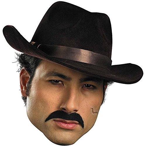 Gangster Mustache Costume Accessory - Gangster Costume Mustache