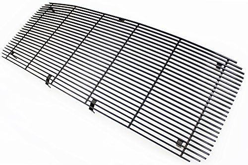 IPCW CWBG-11SDD Billet Grille (Replacement Black Powder Coated Aluminum. (Cutting is Required F-SuperDuty -