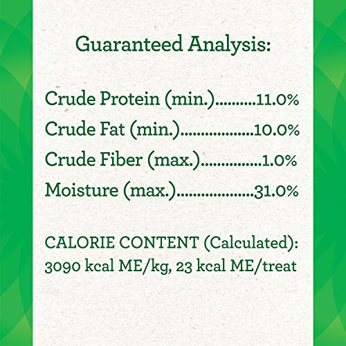 GREENIES Pill Pockets Natural Dog Treats, Capsule Size, Chicken Flavor