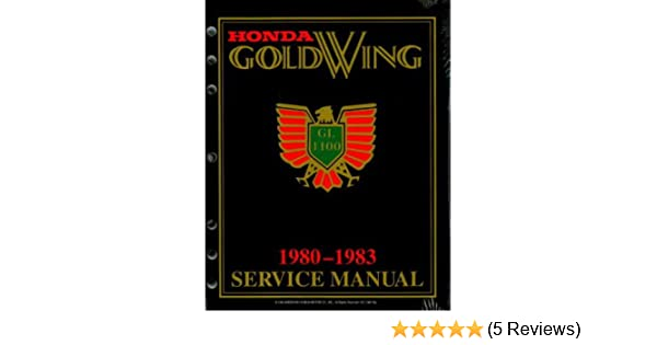 1980 1983 honda gl1100 gold wing factory service manual american rh amazon com 1986 Honda Goldwing Aspencade 1986 goldwing service manual