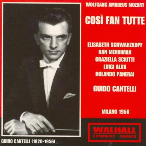 Wolfgang Amadeus Mozart: Cosi Fan Tutte (Milano 1956) ()