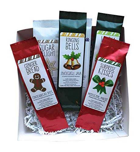 Coffee Gift Basket - Christmas Coffee Ground Variety Pack - Fall Gift Basket - Easy Gift Giving for Fall Birthday Gift, Office Gift Exchange, Teacher Gift ()