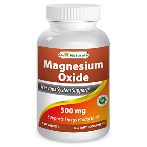 Cheap Best Naturals Magnesium oxide 500 mg 180 tablets
