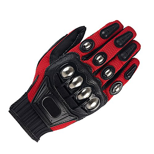Alloy Steel Bicycle Motorcycle Motorbike Powersports Racing Gloves (X-Large) by AV SUPPLY (Image #4)