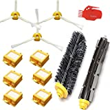 Smartide® Accessory Kit for Irobot Roomba 700 760 770 780 790 Vacuum Cleaner Kit - Includes 6 Pc Filter, 3pc Side Brush, and 1 Pc Bristle Brush and Flexible Beater Brush, Cleaning Tool