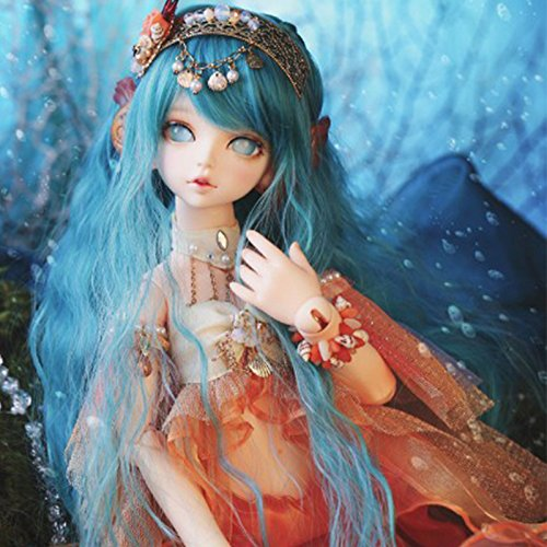 40.5CM Doll Mermaid Doll 2 Bodys + 2 Heads 1/4 BJD Doll Dollfie / 100% Custom-made / Free Make-up + Free Gifts