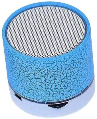 SBA200919S10S14 Wireless S-10 Led Bluetooth Speaker with FM/Radio | Stereo Sound Compatible with All Android, iOS & Windows Device (Assorted Colour)