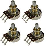 Bourns 500K Pro Audio Short Shaft Audio Pot/Potentiometer - Set of Four (4X)