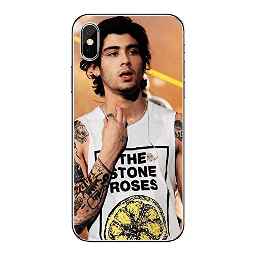 Zain Collectables Music Inspired by Zayn Malik Phone Case Compatible With Iphone 7 XR 6s Plus 6 X 8 9 Cases XS Max Clear Iphones Cases TPU 32991628856 Zain 2019 Stuff